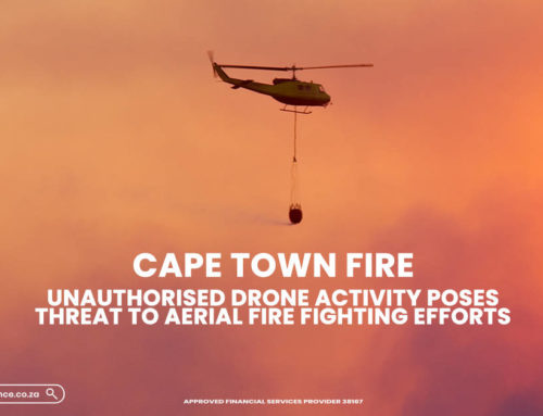 Cape Town Fire – Unauthorised Drone Activity Poses Threat to Aerial Fire Fighting Efforts